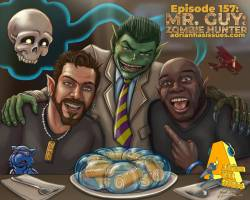 Jayel Draco talks to Adrian Has Issues about Mr. Guy Zombie Hunter!
