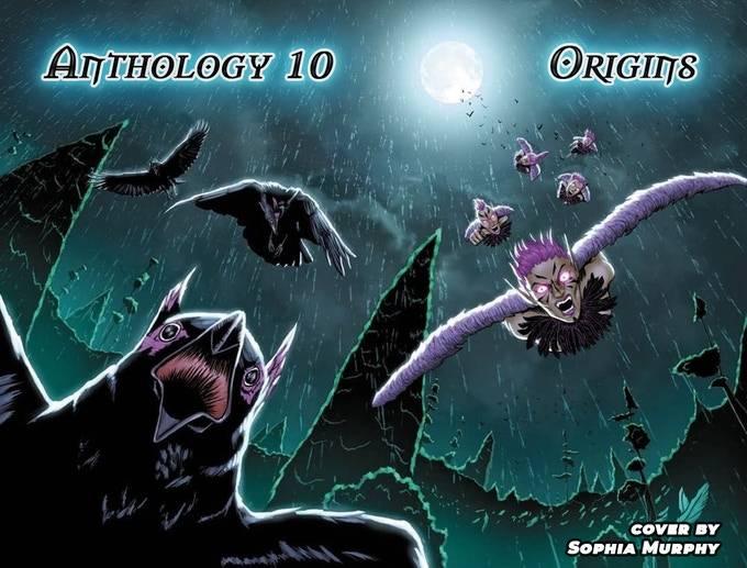 sophia murphy cover art oneshi press anthology 10 origins