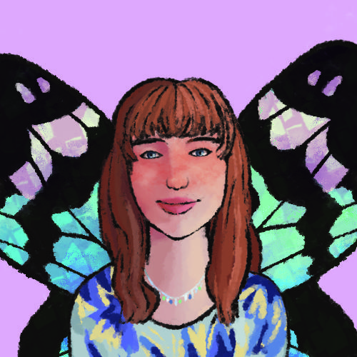 missy with wings portrait by eldkrind
