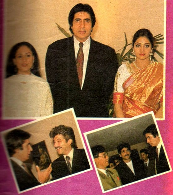 Jaya Bachchan Amitabh Bachchan Sridevi