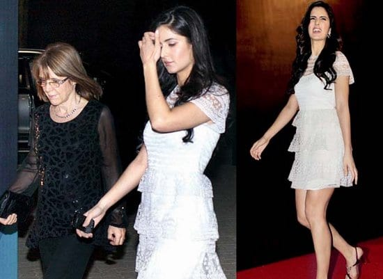 Katrina Kaif Spotted with her mother Sussanna Turquotte