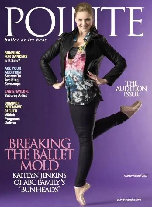 Kaitlyn Jenkins on Pointe Magazine