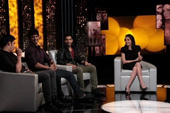 Sushant Singh Rajput, Raj Kumar Yadav and Amit Sadh on The Front Row