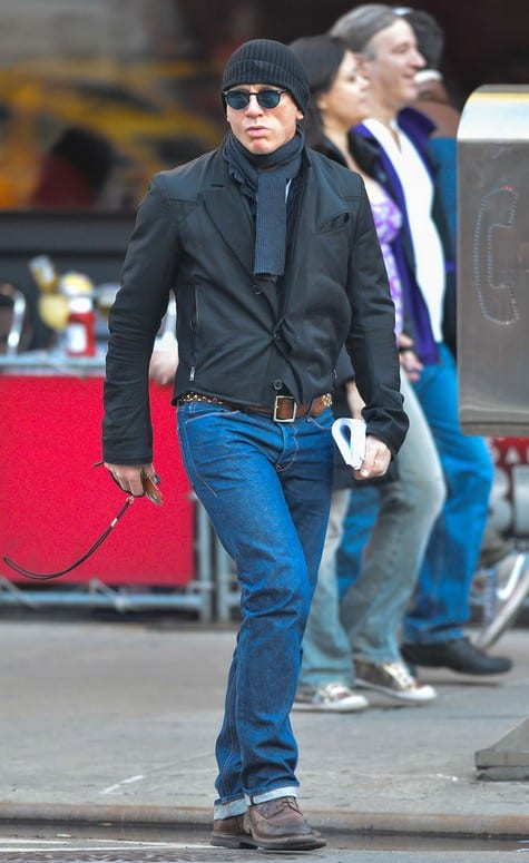 Daniel Craig Spotted in New York City