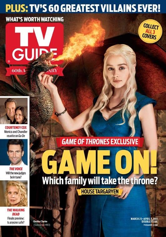 Emilia Clarke on TV Guide Magazine