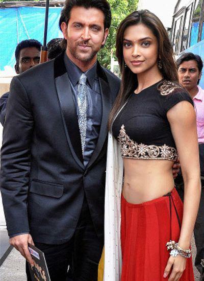 Hrithik Roshan and Deepika Padukone Spotted – OneShotOnePlace.com – OSOP