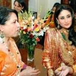 Kareena Kapoor and Sharmila Tagore Spotted at a Wedding