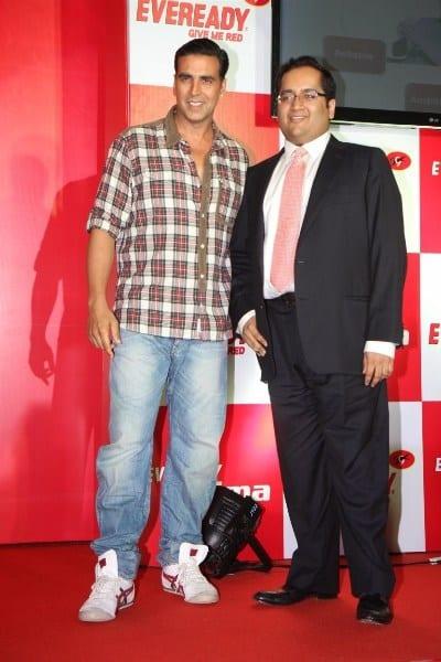 Akshay Kumar at the Eveready Product Launch