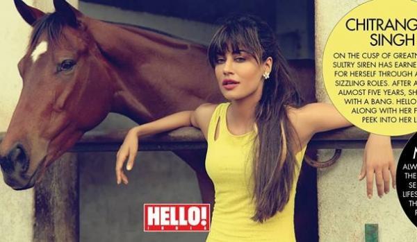 Chitrangda Singh on Hello Magazine