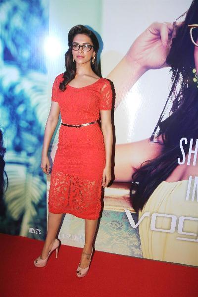 Deepika Padukone at the VOGUE Eyewear Launch