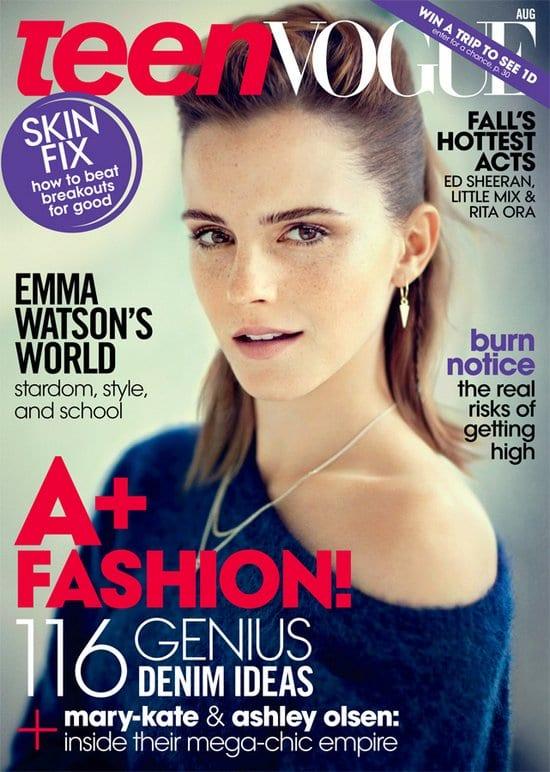 Emma Watson on Teen Vogue Magazine