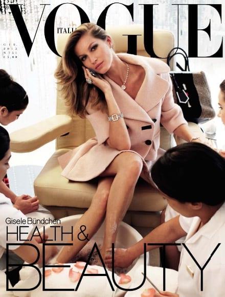 Gisele Bundchen on Vogue Magazine