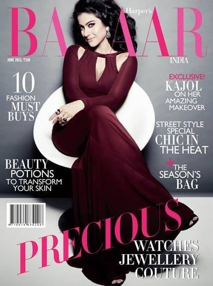 Kajol on Harper's Bazaar Magazine