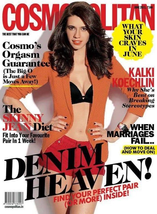 Kalki Koechlin on Cosmopolitan Magazine