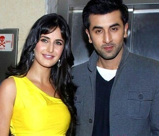 Katrina Kaif and Ranbir Kapoor With MakeUp
