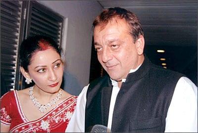 Manyata Dutt and Sanjay Dutt