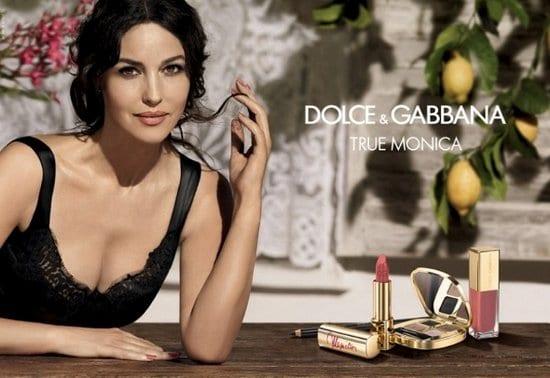 Monica Bellucci in Dolce & Gabbana True Monica Collection Ad