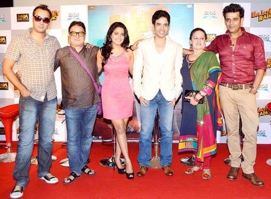 Ranvir Shorey, Vinay Pathak, Vishakha Singh, Tusshar Kapoor, Dolly Ahluwalia and Ravi Kissen at the Bajatey Raho Trailer Launch