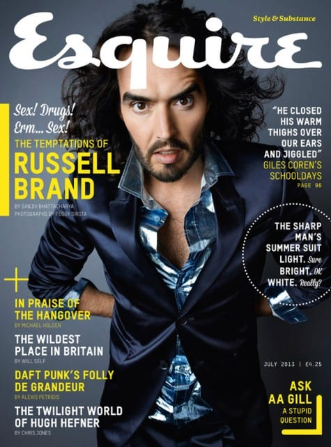 Russell Brand on Esquire Magazine