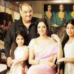 SriDevi's Family – Jhanvi Kapoor, Boney Kapoor, Khushi Kapoor and Sridevi