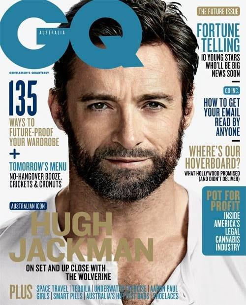 Hugh Jackman on GQ Magazine