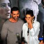 John Abraham and Nargis Fakhri at the Madras Cafe Trailer Launch