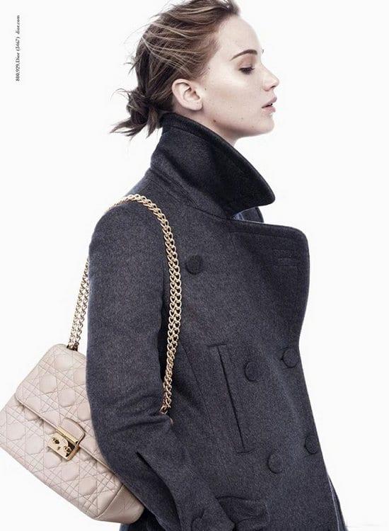 Jennifer Lawrence in Dior Handbag Ads