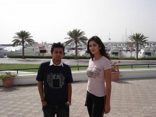 Katrina Kaif Spotted with a Fan