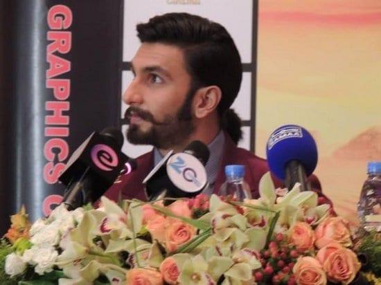 Ranveer Singh and Deepika Padukone Promote Ram Leela in Dubai