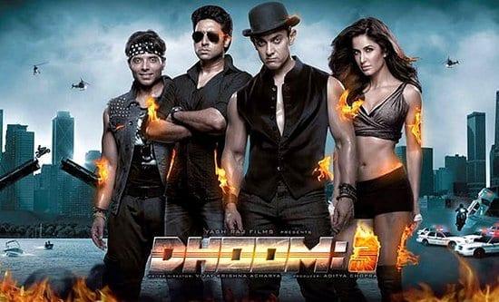Dhoom 3 - 211 cr (still counting) - Aamir Khan, Katrina Kaif, Abhishek Bachchan & Uday Chopra