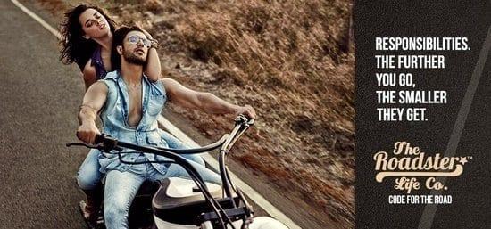 Ranveer Singh in a Myntra Roadster Photoshoot
