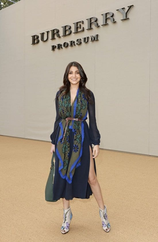 Anushka Sharma at the London Fashion Week
