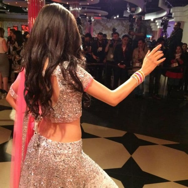 Katrina Kaif with her Wax Statue at Madame Tussauds in London