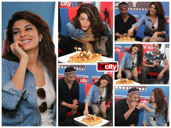 Akshay Kumar and Sidharth Malhotra Celebrate Jaqueline Fernandez's Birthday