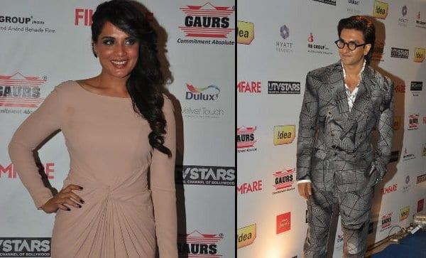 Richa Chadda on Ranveer Singh