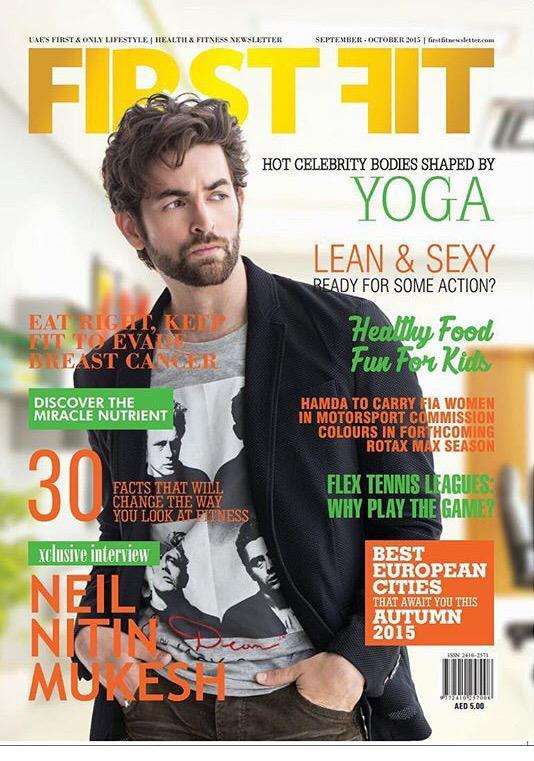 Neil Nitin Mukesh on First Fit Magazine