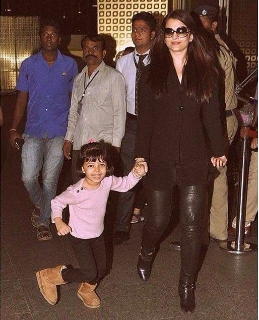 Aishwarya Rai Bachchan Spotted with her daughter Aaradhya