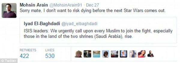 Muslims react to ISIS Leader's Message to Join ISIS