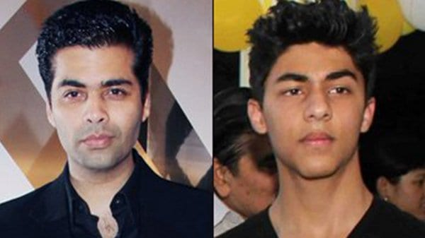 Karan Johar on Launching Shah Rukh Khan's Son, Aryan Khan