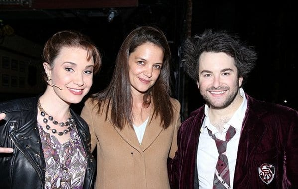 Katie Holmes and Suri Cruise Spotted at School Of Rock Broadway Musical 1