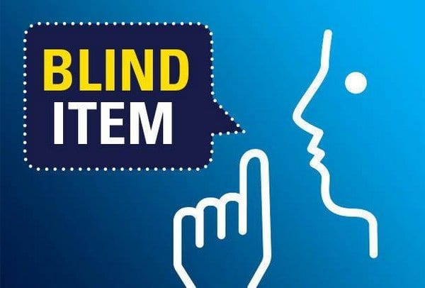 Blind Item – 2017 - Bollywood - November