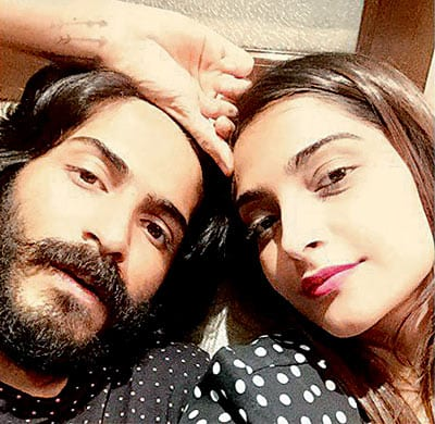 Harshavardhan Kapoor and Sonam Kapoor in a conversation