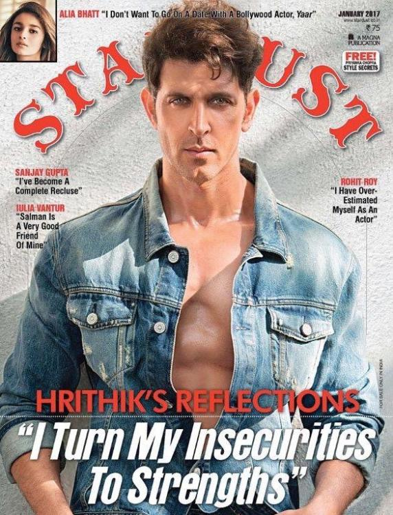 Hrithik Roshan on Stardust Magazine