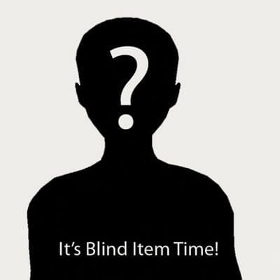 2017 - March - Blind Item 3