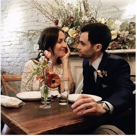 Penn Badgley Got Married!