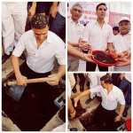 What actors have to do for movie promotions: Akshay Kumar in a toilet pit
