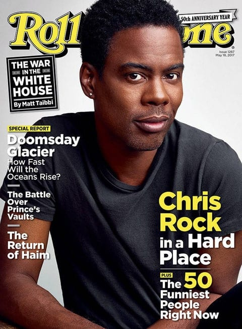 Chris Rock on Rolling Stone Magazine admits he cheated on his wife