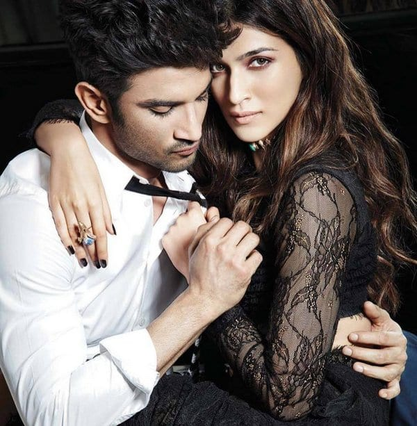 Sushant Singh Rajput and Kriti Sanon on Filmfare Magazine