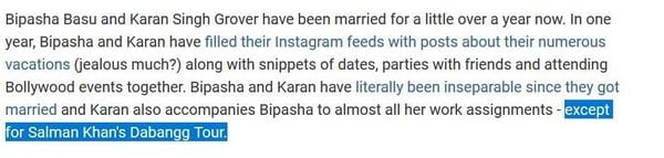 Bipasha Basu compared preparing for her wedding to preparing for a film role