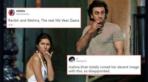 Ranbir Kapoor and Mahira Khna Spotted together in New York